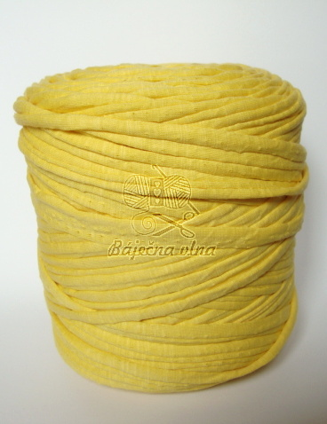 Ball yarn - tmavožltá