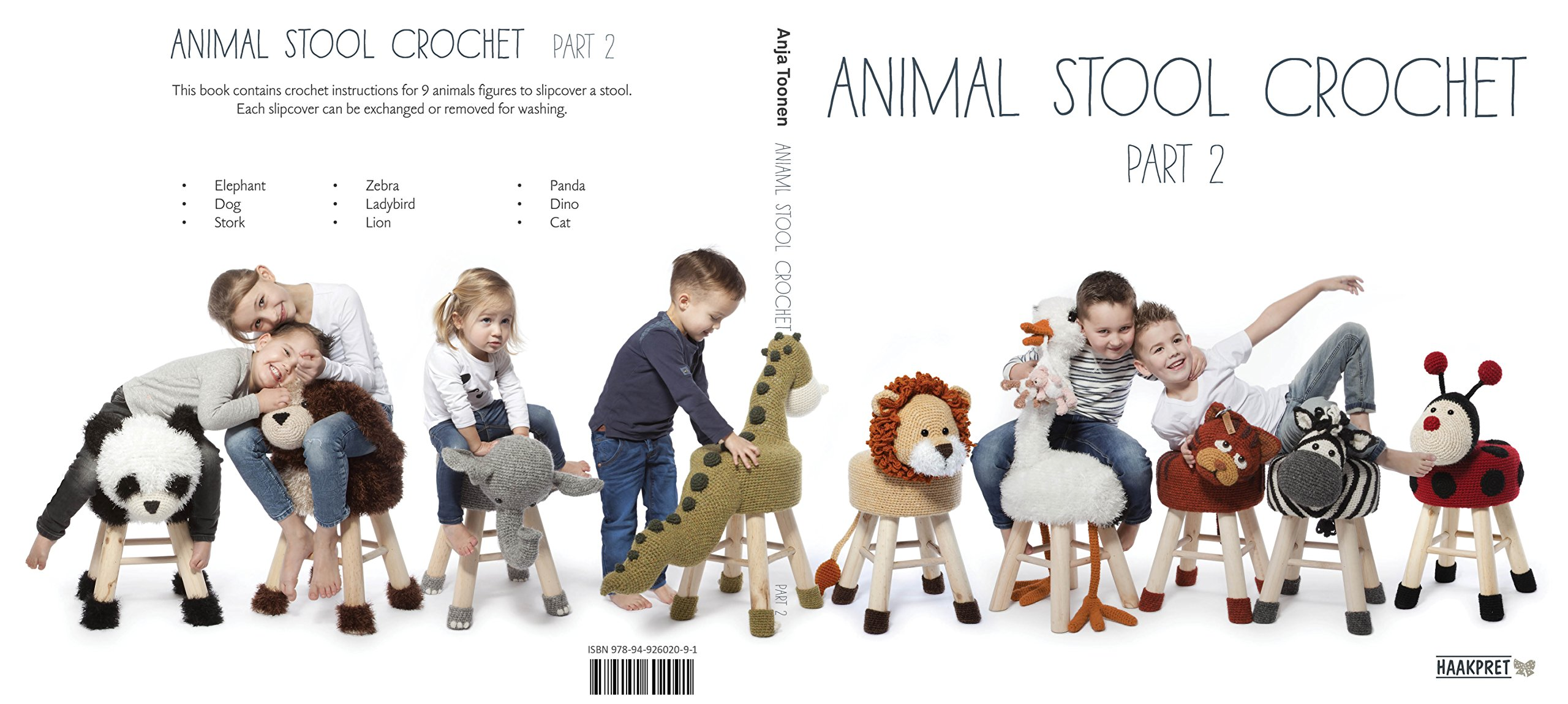 Kniha - Animal Stool Crochet 2