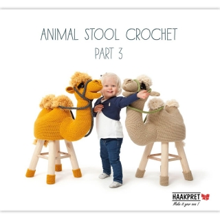 Kniha - Animal Stool Crochet 3